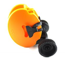 Mini Ski Trolley Skiddi | Orange