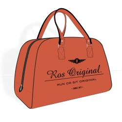 Ros Original Ottoman | Orange