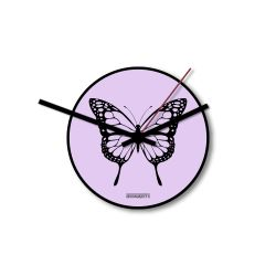 Clock Butterfly | Pink