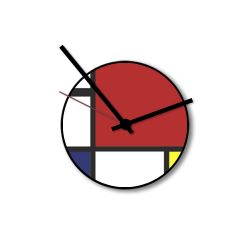 Wall Clock Little Mondrian