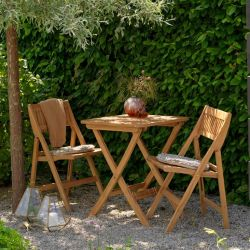 Outdoor Dining Table Set Oropos | Natural