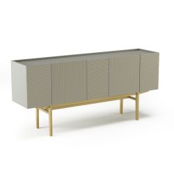 Commode Orto L | Full High | Grijs & Eik Frez