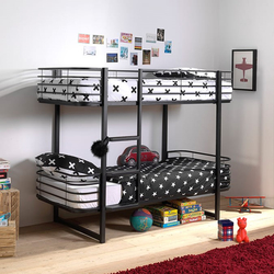 Bunk Bed Oscar | 200 x 90 cm | Black