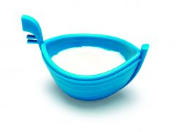 Egg poacher Eggondola | Blue