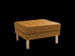 Pouf Topic Wood | Honey