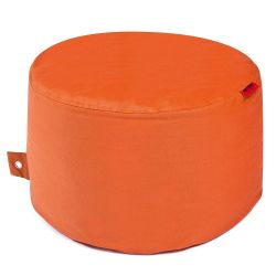 Outdoor Pouf Rock Plus | Orange
