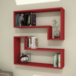 Shelf Ozy Set of 2 | Red