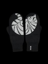 Zweilagige Reflektierende Handschuhe Katti | Schwarz