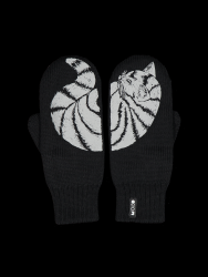 Double Layer Reflective Gloves Katti | Black