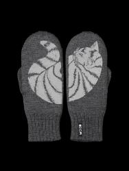 Zweilagige Reflektierende Handschuhe Katti | Graphit