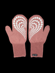 Single Layer Reflective Gloves Lempi | Old Rose