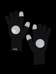Reflective Touchscreen Gloves Kuu | Black