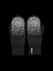 Double Layer Reflective Kids Gloves Kivi | Black