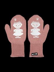 Einlagige Reflektierende Kinderhandschuhe Kuje | Rosa