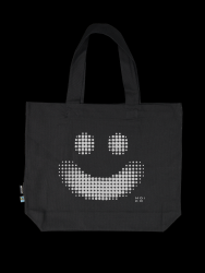 Reflective Tote Bag Hymy | Black