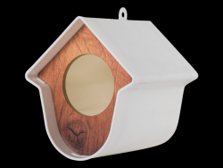 Bird House Evie Set of 2 | White