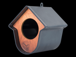 Bird House Evie Set of 2 | Grey