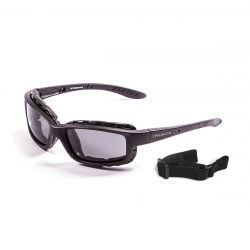 Sunglasses Santa Cruz | Shiny Black + Smoke Lens