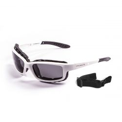 Sunglasses Santa Cruz | Shiny White + Smoke Lens
