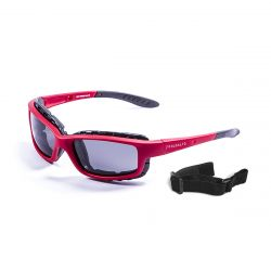 Sunglasses Santa Cruz | Matte Red + Smoke Lens