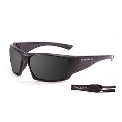 Sunglasses Biarritz | Black + Smoke Lens