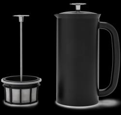 P7 French Press w/ Coffee Filter 950 ml | Matt Black