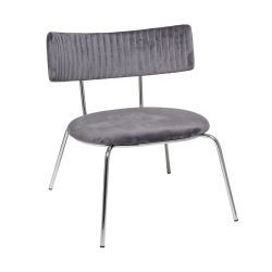 Lounge Chair Wave | Grey