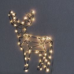 Christmas Lights | Reindeer Cupid Big