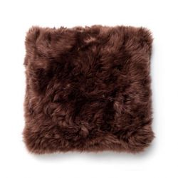 Cushion New Zealand Sheepskin | Brown