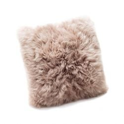 Cushion New Zealand Sheepskin | Light Brown