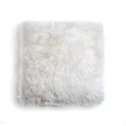 Cushion New Zealand Sheepskin | Natural White