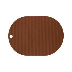 Placemats Ribbo Set van 2 | Caramel