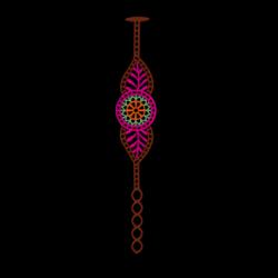 India Bracelet | Pink
