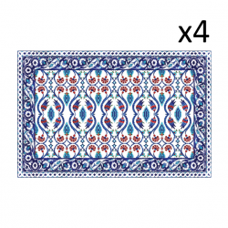 Vinyl Placemats Armenia Set of 4