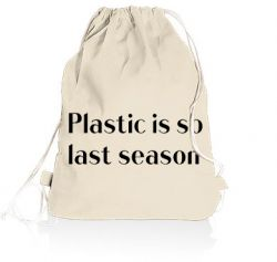 Gym Bag | Plastic is So Last Season