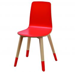 Miss Paint Chair Red