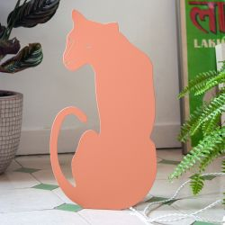 Decoupage Lamp Panther | Pink