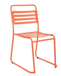 Park Chaise | Orange