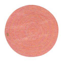 Round Rug Parker 130 cm | Red