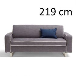 Sleeping Sofa Pascal L 219 cm | Grey