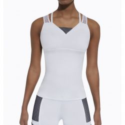 Sport Top Passion | Blanc & Bleu