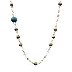 Halskette Passiv | Blau & Gold