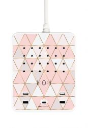 Multiplug Powerstation Wireless | Pastel