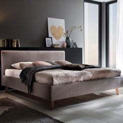 Upholstered Bed Paula | Taupe