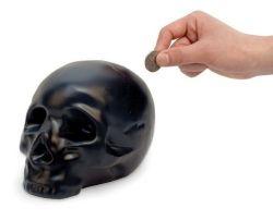 Tirelire Crâne