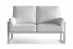 Outdoor 2 Seater Angie | White