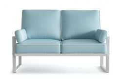 Outdoor 2 Seater Angie | Light Blue