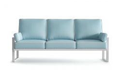 Outdoor 3 Seater Angie | Light Blue