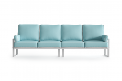 Outdoor 4 Seater Angie | Light Blue