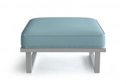 Outdoor Pouf Angie | Light Blue